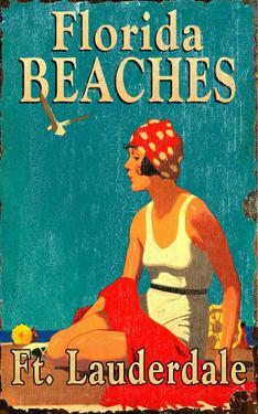Florida Beaches Vintage