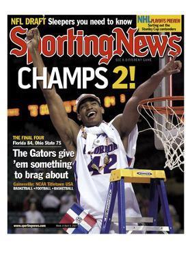 Florida Gators' Al Horford - National Champions - April 9, 2007