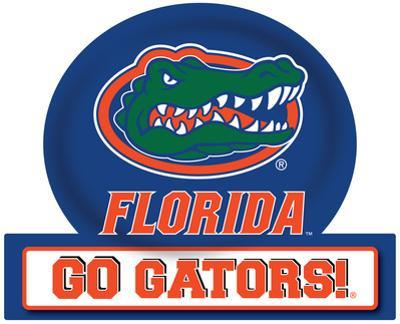 Florida Gators Jumbo Tailgate Peel & Stick