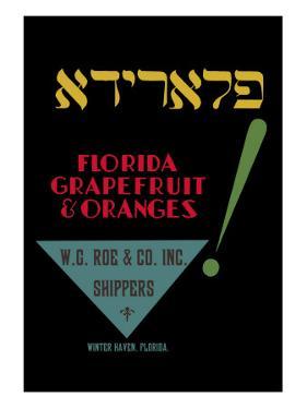 Florida Grapefruit and Oranges