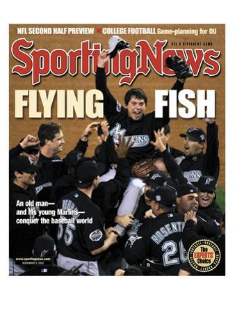 Florida Marlins P Josh Beckett - World Series Champions - November 3, 2003