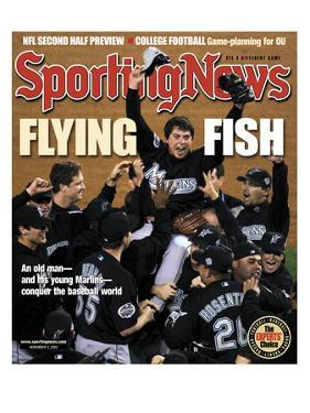 Florida Marlins P Josh Beckett - World Series Champions - November 3, 2003