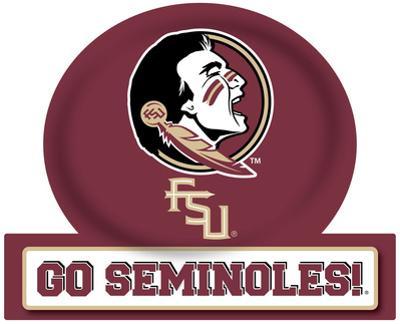 Florida State Seminoles Jumbo Tailgate Peel & Stick