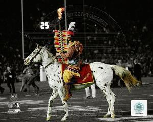 Florida State Seminoles mascots Chief Osceola & Renegade 2014 BCS National Championship Game Spotli