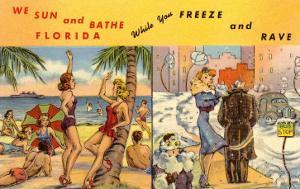 Florida Sun Versus City in Winter