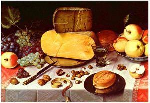 Floris Claesz. van Dyck Still Life Art Print Poster