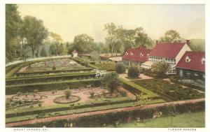 Flower Garden, Mt. Vernon, Virginia