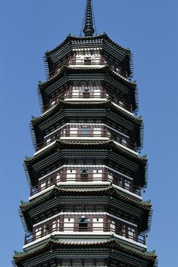 Flower Pagoda, Buddhist Temple of Six Banyan Trees, Canton (Guangzhou), Guangdong, China