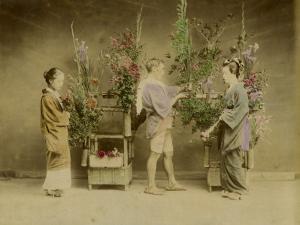 Flower Seller in Japan