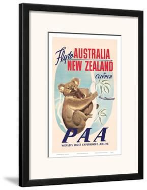 Fly to Australia and New Zealand c.1950s