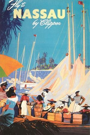 Fly to Nassau Poster