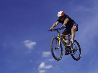 Flying Cyclist