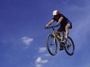 Flying Cyclist