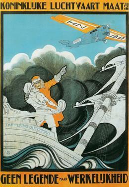 Flying Dutchman Ship and Plane