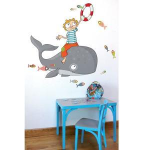 Flying Fish Wall Decal