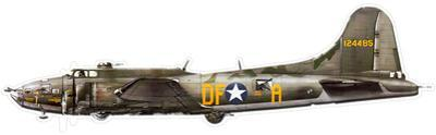 Flying Fortress B-17 Steel Sign