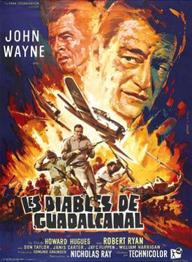 Flying Leathernecks, (aka Les Diables De Guadacanal), Robert Ryan, John Wayne, 1951
