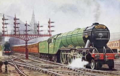 Flying Scotsman Steam Locomotive