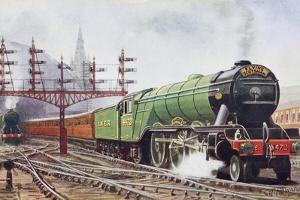 Flying Scotsman Steam Locomotive