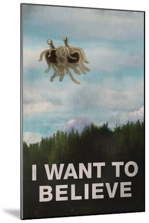 Flying Spaghetti Monster - I Want To Believe
