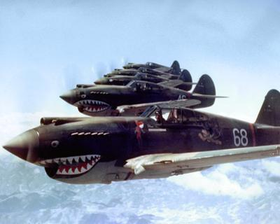 Flying Tigers over China, 1942