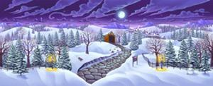 Christmas Woods by FlyLand Designs