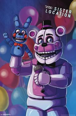 Fnaf: Sister Location - Funtime Freddy