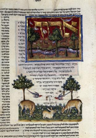 Fol.80 from 'The Rothschild Miscellany', Northern Italy, C.1450-80