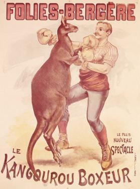 Folies Bergere, Boxing Kangaroo