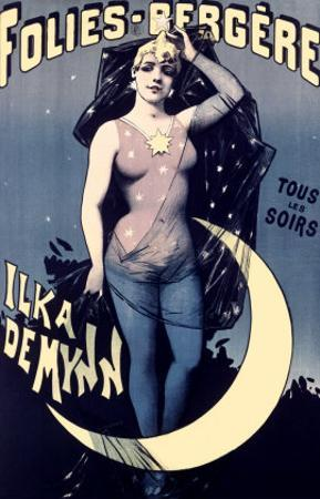 Folies Bergere, Moonlit Night