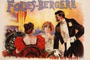 Folies-Bergere Poster