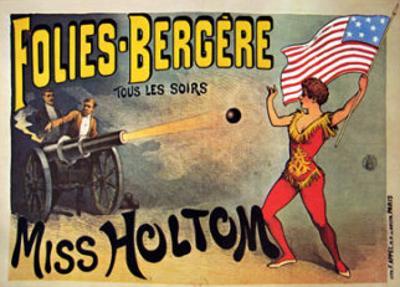 Folies-Bergeres, Miss Holtom
