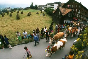 Folk Festival, Wengen, Switzerland