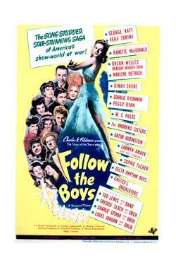 Follow the Boys - Movie Poster Reproduction