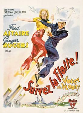Follow The Fleet, (aka Suivez La Flotte!), Ginger Rogers, Fred Astaire, 1936