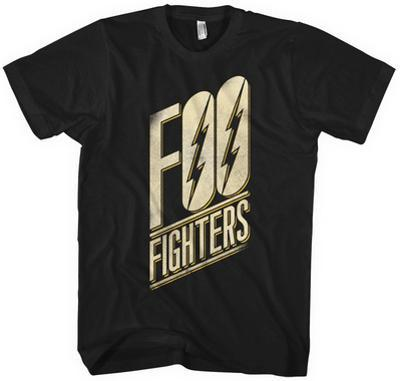 Foo Fighters- Slanted Black Logo