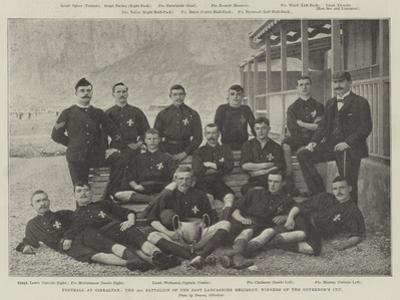 Football at Gibraltar