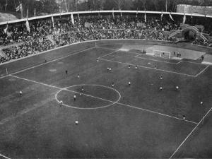 Football Final Between England and Denmark