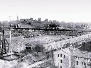 Football Game at Franklin Field, Philadelphia, Pennsylvania