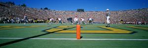 Football Game, University of Michigan, Ann Arbor, Michigan, USA