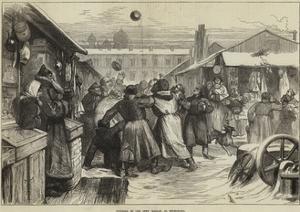 Football in the Jews' Market, St Petersburg