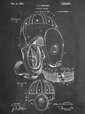 Football Leather Helmet Patent