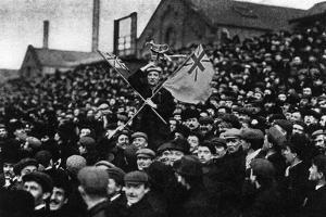 Football: the Cup Tie Crowd at Derby, 1903