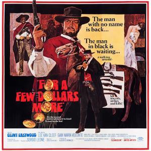 For a Few Dollars More, Clint Eastwood, Lee Van Cleef, 1965