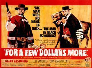 For a Few Dollars More, L-R, Clint Eastwood, Lee Van Cleef, 1965