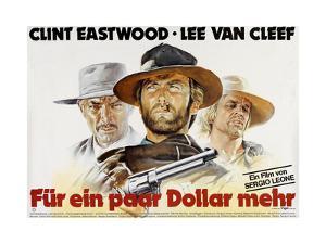 For a Few Dollars More, Lee Van Cleef, Clint Eastwood, Klaus Kinski, 1964