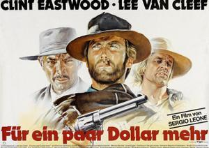 For a Few Dollars More, Lee Van Cleef, Clint Eastwood, Klaus Kinski, 1964