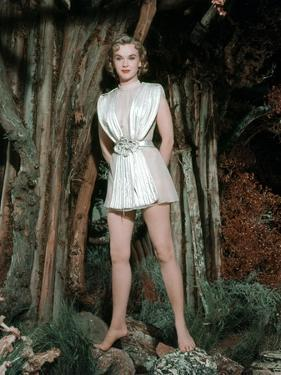 FORBIDDEN PLANET, 1956 directed by FRED M.WILCOX Anne Francis (photo)