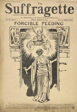 Forcible Feeding Cover of the Suffragette