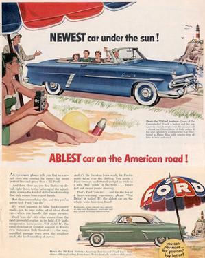 Ford 1952 Newest Car …